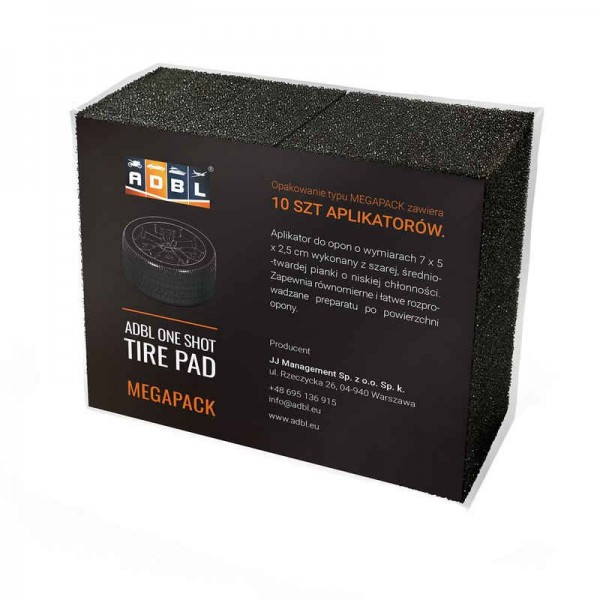 ADBL One Shot Tire Pad Applikatorpad 10er-MEGAPACK