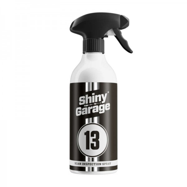 Shiny Garage Scan Inspection Spray Entfetter 0.5L