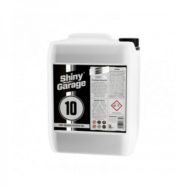 Shiny Garage Pre Wash Citrus Oil 5L